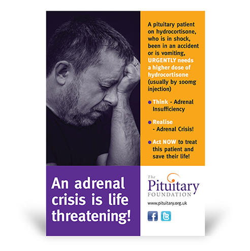 Adrenal Crisis Leaflet The Pituitary Foundation