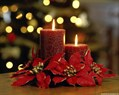 Christmas Candles Wallpaper 005